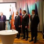 Spotkanie w ambasadzie Węgier ( V4 )